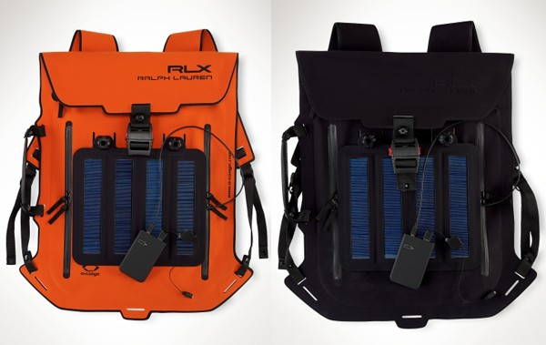 Solar-panalld backpacks
