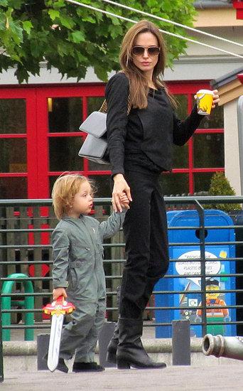 Angelina Jolie at Legoland