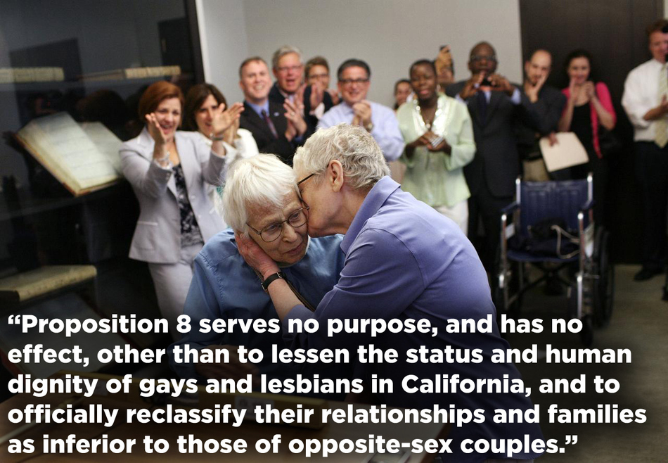 Prop 8 Ruling quote