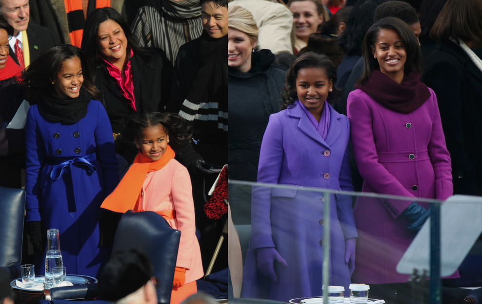 1st Daughters, then and now