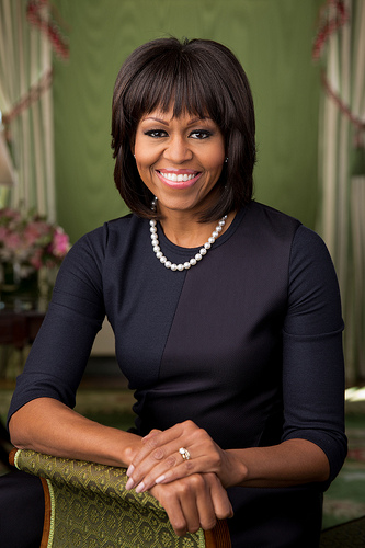 Michelle Obama official 2nd term portrait