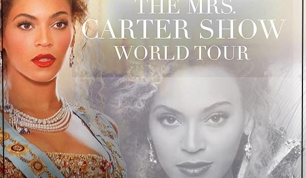 Beyonce 2013 Tour Poster