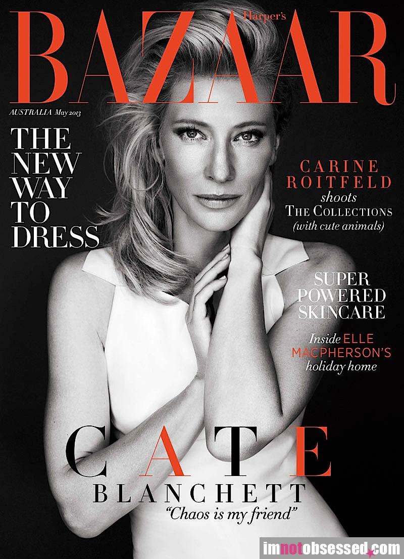 Cate Blanchett on Oz Harper's Bazaar