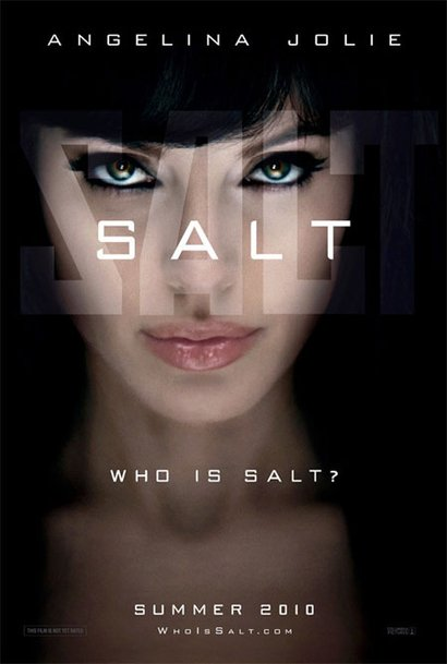 Angelina Jolie as Salt