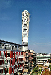 Turning Torso from the west.