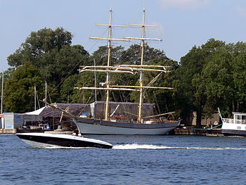 English: Stockholm ( Sweden ). Sailing ship &q...